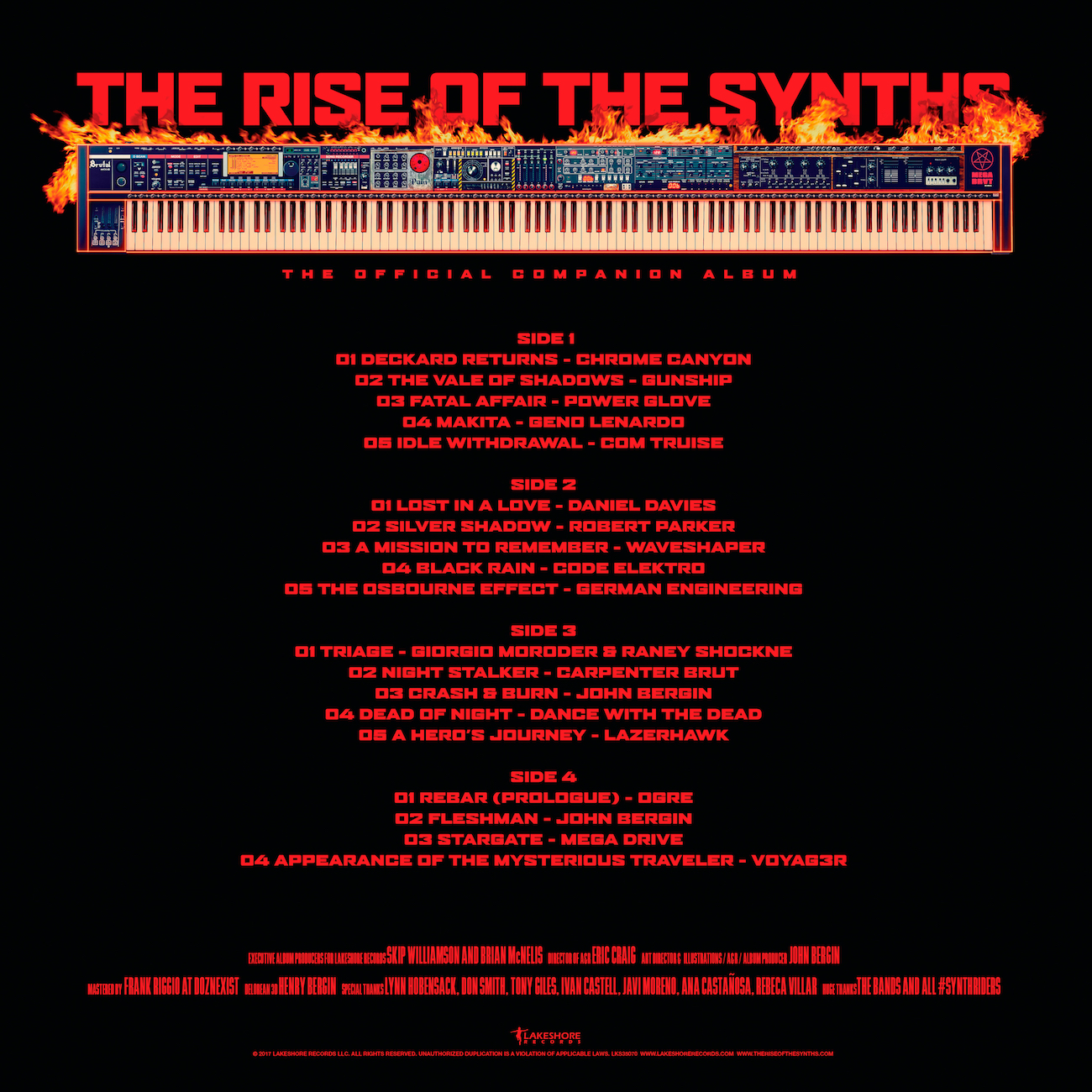 The Rise Of The Synths Vinyl Companion Album Pre Order It Now