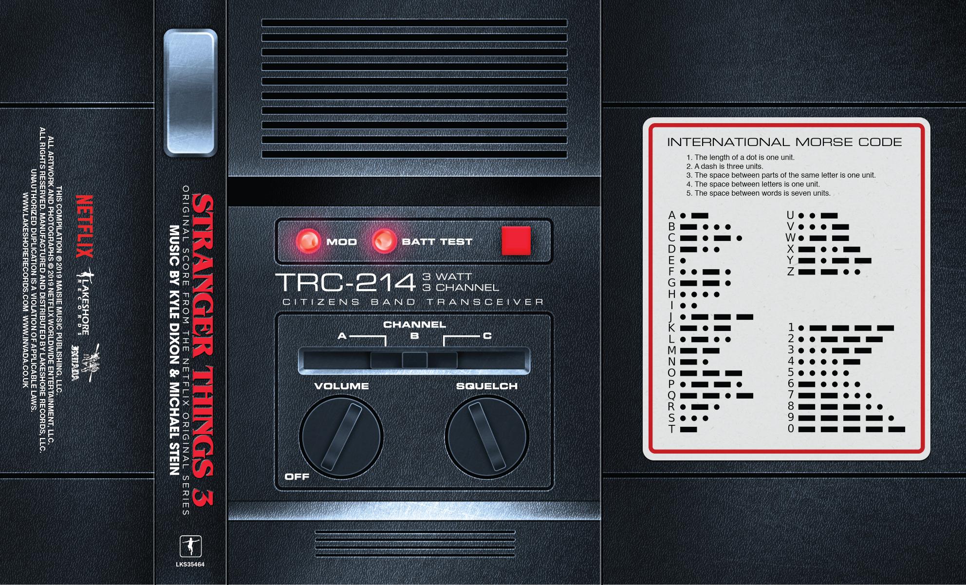 Stranger Things 3' Cassette Tape Artwork Reveal: Exclusive
